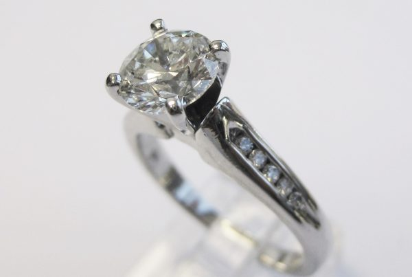 1.41ct Diamond Engagement Ring