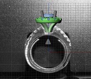 Diamond-Halo-Engagement-Ring-CAD-Side-300x262
